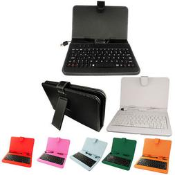 "1pcs 7"" Inch Random Color PU Case Keyboard case for 7"" Table"