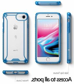 For iPhone 8 / 7 Case Blue POETIC【Affinity】Transparent