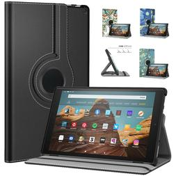 MoKo Case for All-New Amazon Fire HD 10 Tab 7th 360 Degree R