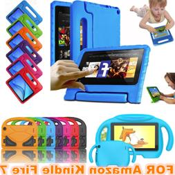 7'' For Amazon Kindle Fire 7 7th Gen 2017 2015 Kids ShockPro