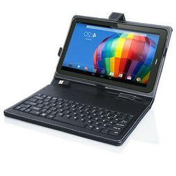 7in Tablet PC Phablet Protective Case Cover FULL Keyboard St