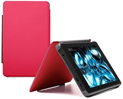Fire HD 6 Slim Case , Pink, Nupro, Slim Fitted Standing Case