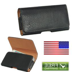 Luxmo Genuine Leather Holster Belt Clip Sleeve Pouch Case Fo