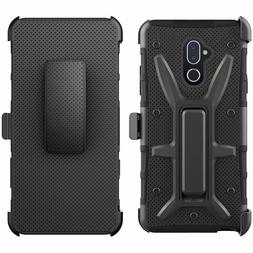 Alcatel 7 Belt Clip Holster Combo Cell Phone Case With Kick