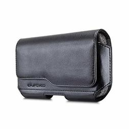 Alcatel 7 Belt Clip Holster Pouch Sleeve Combo Cell Phone Ca