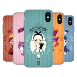 HEAD CASE DESIGNS ALICE IN WONDERLAND SOFT GEL CASE FOR APPL