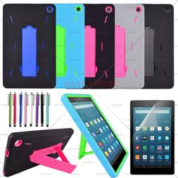 "For Amazon Fire 7 2019 9th Gen 7"" Tablet Case Three Layer Co"