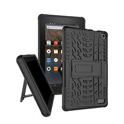 Amazon Fire Tablet 7 Case, Kindle Fire 7 Case, Soft TPU and