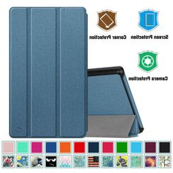 For Amazon Kindle Fire 7 2019 9th Gen Luxury Leather Magneti