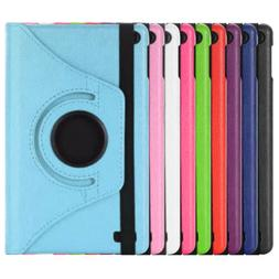 "For Amazon Kindle Fire 7"" 8"" Tablet 360° Rotating Leather S"