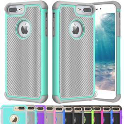 For iPhone 5 SE 6 6S 8 7 Plus Phone Case Hybrid Shockproof A