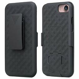 Apple iPhone 7 Holster Belt Clip Combo Cell Phone Case With