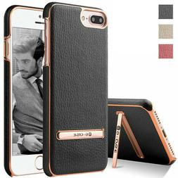 For Apple iPhone 7 Plus 7 6s 6 Shockproof Leather Ultra Thin