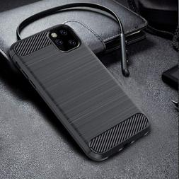 For iPhone X XS MAX XR 8 7 Plus Slim Carbon Fiber Texture So