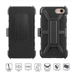 Apple iPhone Belt Clip Holster Combo Cell Phone Case With Ki