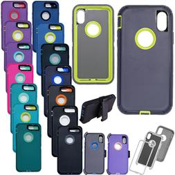 Armor Case Cover For iPhone X 7 8 Plus