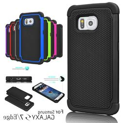 Armor Shockproof Rugged Rubber Hard Case Cover for Samsung G