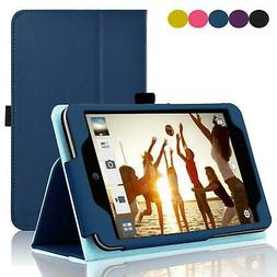 ACdream ASUS MeMO Pad 7 LTE Case, Premium PU Leather Smart C