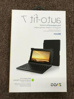 """ZAGG auto - fit 7"""" Case with Folio Keyboard for Small Androi"""