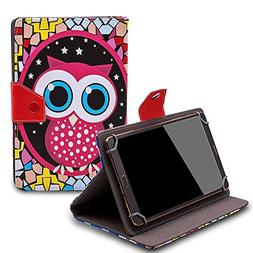 "Tsmine Barnes & Noble Nook BNTV250 7"" Tablet Flip Cartoon Ca"