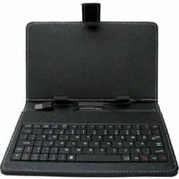 MYEPADS Keyboard/Cover Case for 7 Tablet - Leather