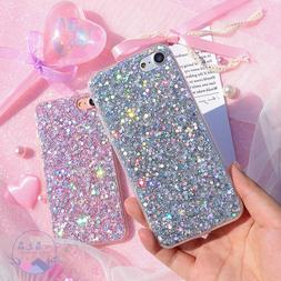 Bling Glitter Full Sparkle Protective Cute Slim Fit Phone Ca