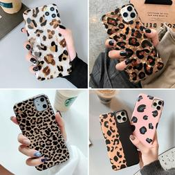 Bling Leopard Soft Rubber Case Slim Cover F iPhone 8 Plus XR