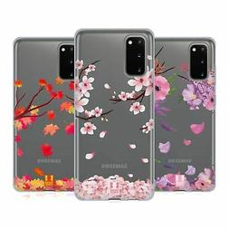 HEAD CASE DESIGNS BLOSSOMS AND LEAVES SOFT GEL CASE FOR SAMS