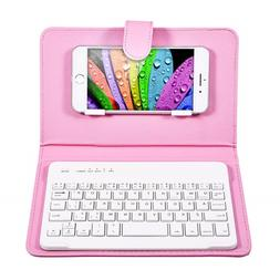 Bluetooth Mobile Phone <font><b>Keyboard</b></font> with PU