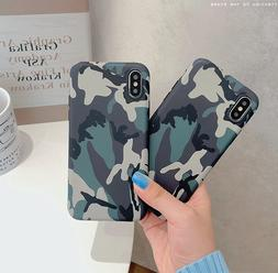 CAMO Green Army Soft TPU Cover Case For Apple iPhone 11 Pro