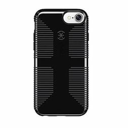 Speck CandyShell Grip Cell Phone Case for iPhone 7, Black/Sl