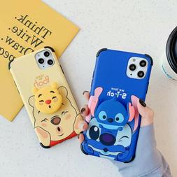 Cartoon Disney Stitch Soft Phone Case Cover For iPhone 11 Ma