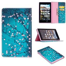 Case for Amazon Fire HD 7 Tablet - Slim Folding Stand Cover