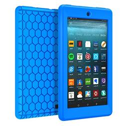 MoKo Case for All-New Amazon Fire 7 Tablet  -  Light Weight