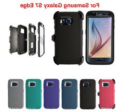 For Samsung Galaxy S7 Edge Defender Case &  Screen Protector