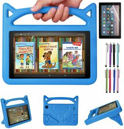Case For Amazon Kindle Fire 7 HD 8/ HD 10  Kids Shockproof R