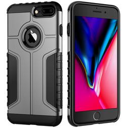 JETech Case for iPhone 8 Plus 7 Plus Shockproof Dual Layer P