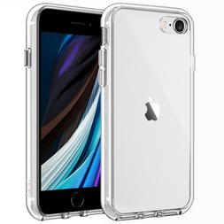 JETech Case for iPhone SE 2020 / 8 / 7 Shock-Absorption Bump