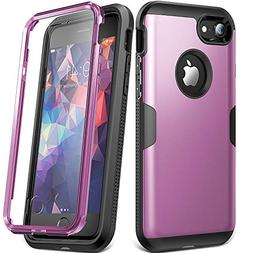 YOUMAKER Case for iPhone 8 & iPhone 7, Full Body Rugged with