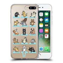 Head Case Designs Cat Yoga Animals Soft Gel Case for iPhone