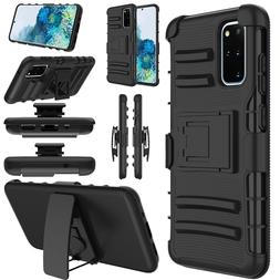 Cell Phone Case Holster Shockproof Rugged Hybrid Cover With