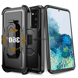 For Cell Phone Heavy Duty Hard Armor Case Cover With Belt Cl