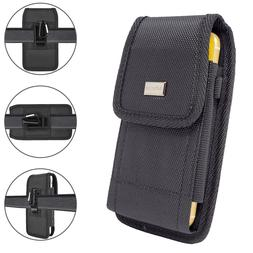 Cell Phone Pouch Tactical Holster Metal Belt Clip Loop Rugge