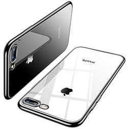 TORRAS Crystal Clear iPhone 8 Plus Case/iPhone 7 Plus Case,