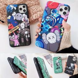 Cute Kaws Couple Cool Soft Phone Case Cover For iPhone11Pro