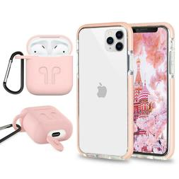 Cute Shockproof Phone Case+ Airpods Cover For iPhone 8 Plus