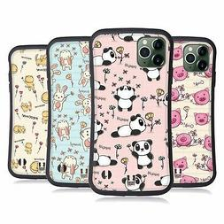 HEAD CASE DESIGNS CUTESY DOODLES HYBRID CASE FOR APPLE iPHON