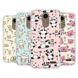 HEAD CASE DESIGNS CUTESY DOODLES SOFT GEL CASE FOR LG PHONES