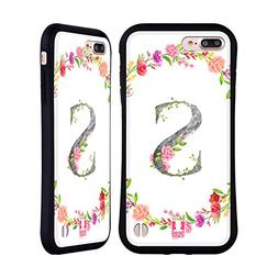 Head Case Designs Letter S Decorative Initials 2 Hybrid Case