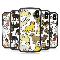 HEAD CASE DESIGNS DOG BREED PATTERNS 3 HYBRID CASE FOR APPLE